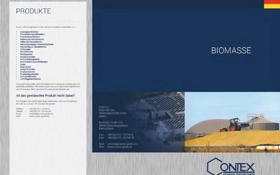 Broschüre: Biomasse