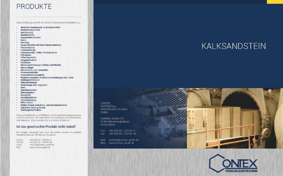 Broschüre: Kalksandstein