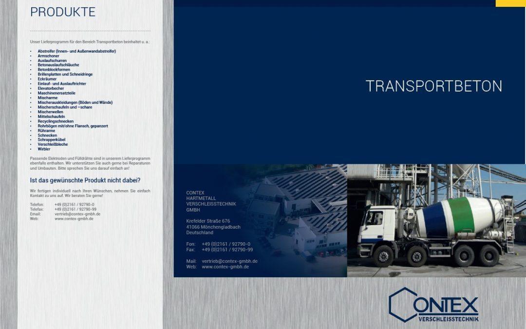 Broschüre: Transportbeton