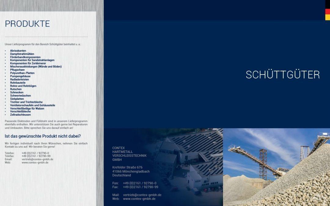 Broschüre: Schüttgüter