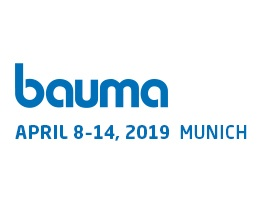 Messe: bauma 2019 in München
