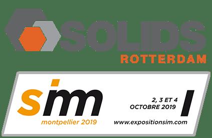 Messen: Solids Rotterdam & SIM Montpellier